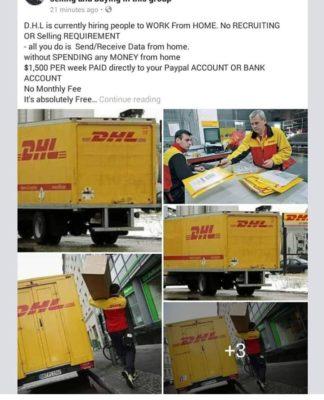 Jobs scam