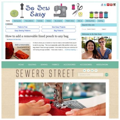 Sewing website