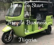 start tricycle keke napep business in nigeria
