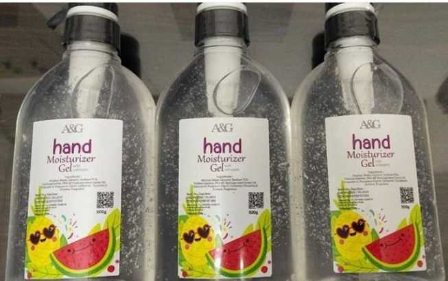 Hand sanitizer in Nigeria