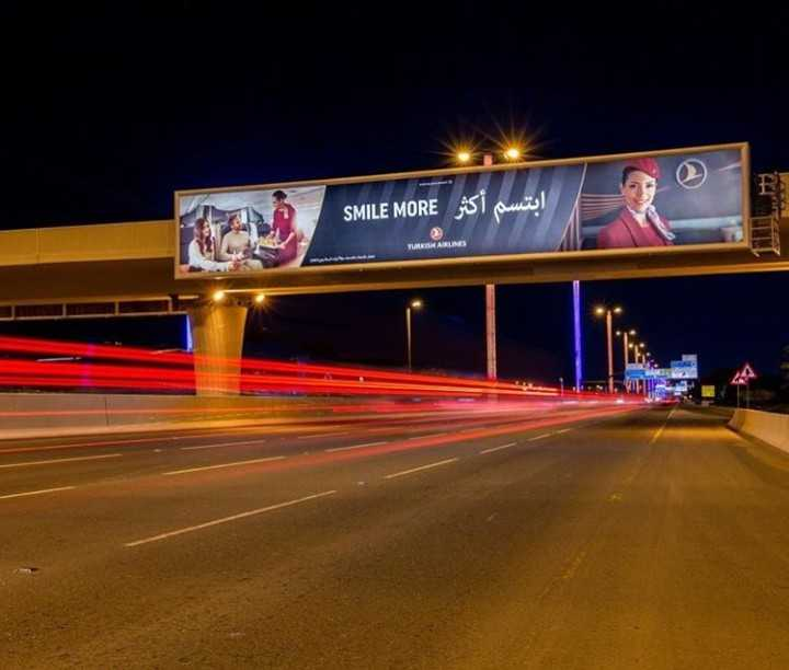 bridge outdoor advertising