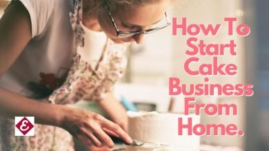 how to start cake business from home