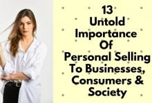 Photo of Roles/Importance Of Personal Selling To Businessman, Consumers & Society